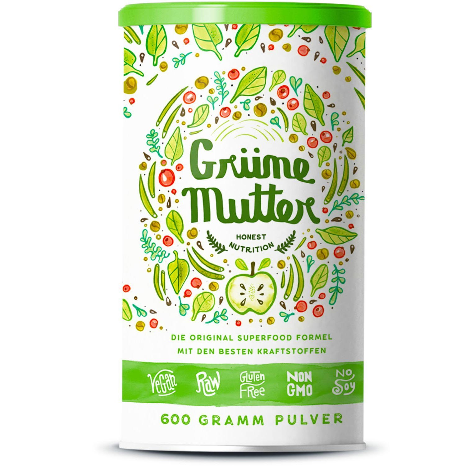 Grüne Mutter Dose