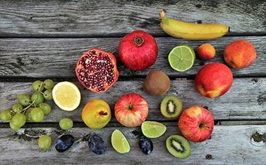 Obst aufgeschnitten - Warum ein Gesundheitsshashake